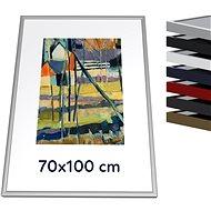 THALU Kovový rám 70x100 cm Stříbrná matná     - Fotorámeček