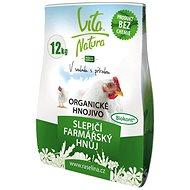 RAŠELINA SOBĚSLAV Vita Natura Farmářský hnůj slepičí 12kg - hnojivo