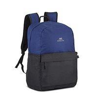 """RIVA CASE 5560 15.6"""" černo/modrý - Batoh na notebook"""