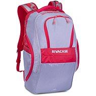 """RIVA CASE 5265 17.3"""" šedo/červený - Batoh na notebook"""