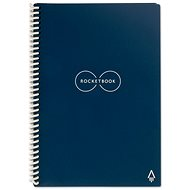 Rocketbook Everlast Executive A5 SMART Notepad, Dark Blue - Notepad
