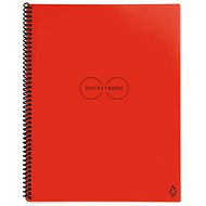 Rocketbook Everlast Letter A4 SMART Notepad, Red - Notepad