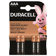 Duracell Basic AAA 4 ks