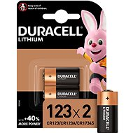 Duracell Ultra CR123A 2 ks - Baterie