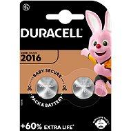 Duracell CR2016 2 ks - Knoflíkové baterie