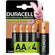 Duracell StayCharged AA - 2400 mAh 4 pack - Rechargeable battery