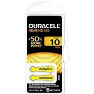 Duracell Hearing Aid - DA10 Duralock - Jednorázová baterie