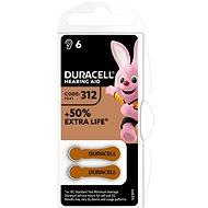 Duracell Hearing Aid - DA312 Duralock - Disposable batteries