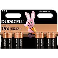 Duracell Basic AA 8 ks - Jednorázová baterie