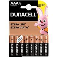 Duracell Basic AAA 8 ks - Jednorázová baterie