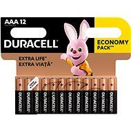 Duracell Basic AAA 12 ks - Jednorázová baterie