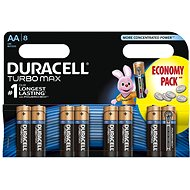 Duracell Turbo Max AA 8 ks - Baterie