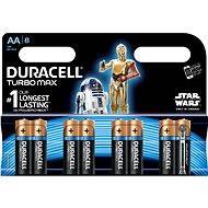 Duracell Turbo Max AA 8 ks (edice StarWars) - Baterie
