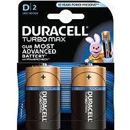 Duracell Turbo Max D 2 ks - Baterie