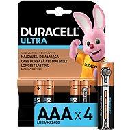 Duracell Ultra AAA 4 ks - Jednorázová baterie