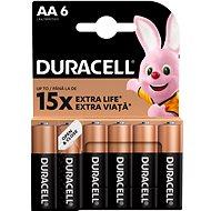 Duracell Basic AA 6 ks - Jednorázová baterie