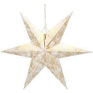 RETLUX RXL 363 hvězda zlatá 10LED WW