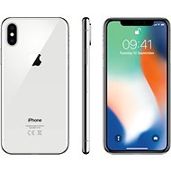 iPhone X 64GB Stříbrný - Mobilní telefon