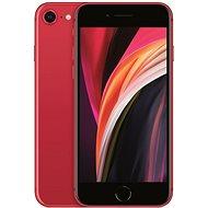 iPhone SE 128GB červená 2020 - Mobilní telefon