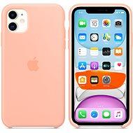 Apple iPhone 11 silikonový kryt grepově růžový