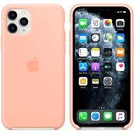 Apple iPhone 11 Pro Silikonový kryt grepově růžový - Kryt na mobil