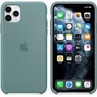 Apple iPhone 11 Pro Max Silikonový kryt kaktusově zelený