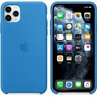Apple iPhone 11 Pro Max Silikonový kryt příbojově modrý - Kryt na mobil