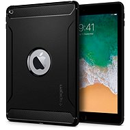 "Spigen Rugged Armor Black iPad 9.7"" 2017/2018 - Pouzdro na tablet"
