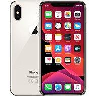 Repasovaný iPhone X 256GB stříbrná - Mobilní telefon