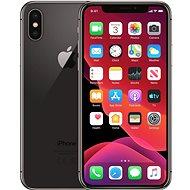 Repasovaný iPhone X 256GB vesmírně šedá - Mobilní telefon