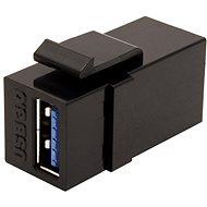 OEM Keystone spojka USB 3.0 A(F) - USB 3.0 A(F) - Keystone