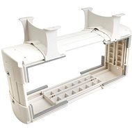 OEM Držák PC pod desku stolu, vertikální / horizontální, do 30kg, bílý - Stolní držák