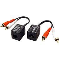 OEM Audio extender přes TP, 2x cinch, 100m - Extender