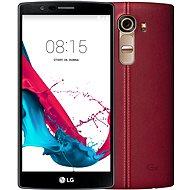 LG G4 (H815) Leather Red - Mobilní telefon