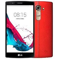 LG G4 (H815) Leather Ferrari Red - Mobilní telefon