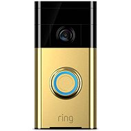 Ring Doorbell Polished Brass - Zvonek