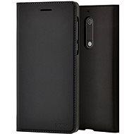 Nokia Slim Flip cover CP-307 for Nokia 5.1 Black - Ochranný kryt