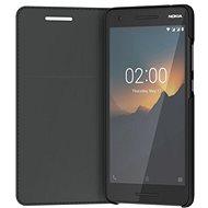 Nokia Slim Flip cover CP-220 for Nokia 2.1 Black - Pouzdro na mobil