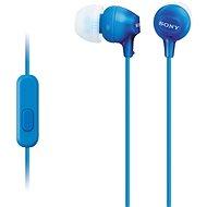 Sony MDR-EX15AP modrá - Sluchátka