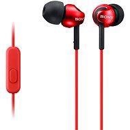 Sony MDR-EX110AP červená