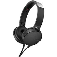 Sony MDR-XB550AP černá - Sluchátka s mikrofonem