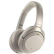 Sony Hi-Res WH-1000XM3, platinově stříbrná - Bezdrátová sluchátka