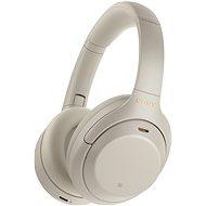 Sony Hi-Res WH-1000XM4, stříbrno-šedá, model 2020