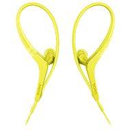 Sony MDR-AS410APY žlutá - Sluchátka