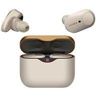 Sony WF-1000XM3 stříbrná - Bezdrátová sluchátka