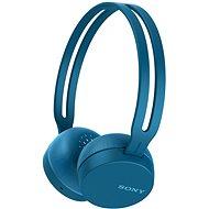 Sony WH-CH400 modrá - Sluchátka s mikrofonem
