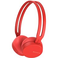 Sony WH-CH400 červená - Sluchátka s mikrofonem