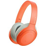 Sony Hi-Res WH-H910N, oranžovo-šedá - Bezdrátová sluchátka