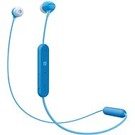 Sony WI-C300 modrá - Bezdrátová sluchátka