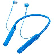 Sony WI-C400 modrá - Bezdrátová sluchátka